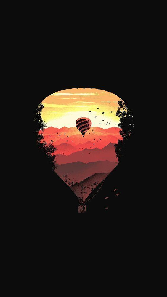 Hot Air Balloon [564 x 1002]