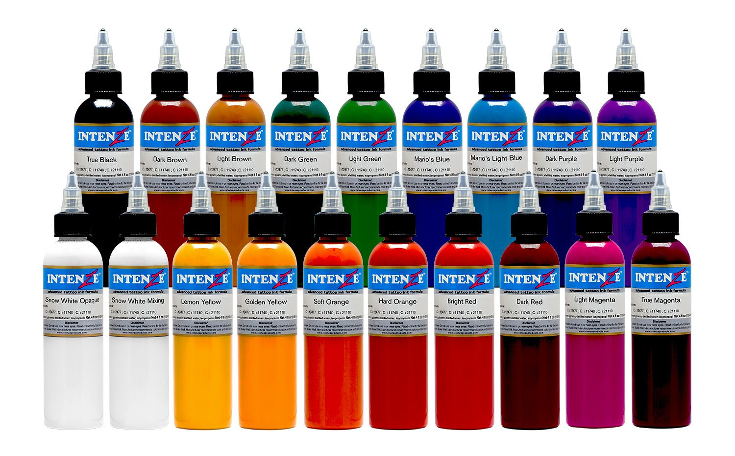 19 Color Tattoo Ink Set In 2020 Best Tattoo Ink Tattoo Ink Sets Ink Tattoo