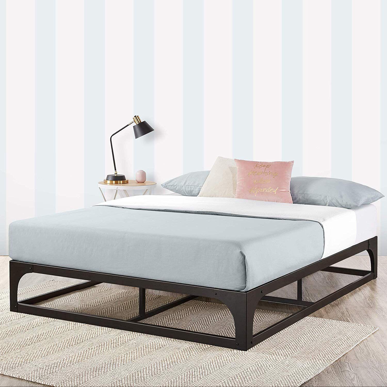 Amazon Com Mellow Full 9 Metal Platform Bed Frame W Heavy Duty