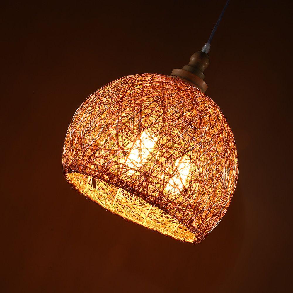 LamppoDesign Creative Aluminium Wire Lampshade/Orange ...