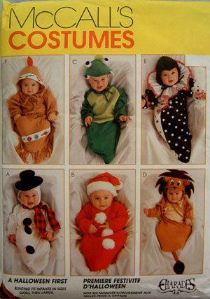 babys 1st halloween costume pattern rare htf - Baby Halloween Costume Patterns