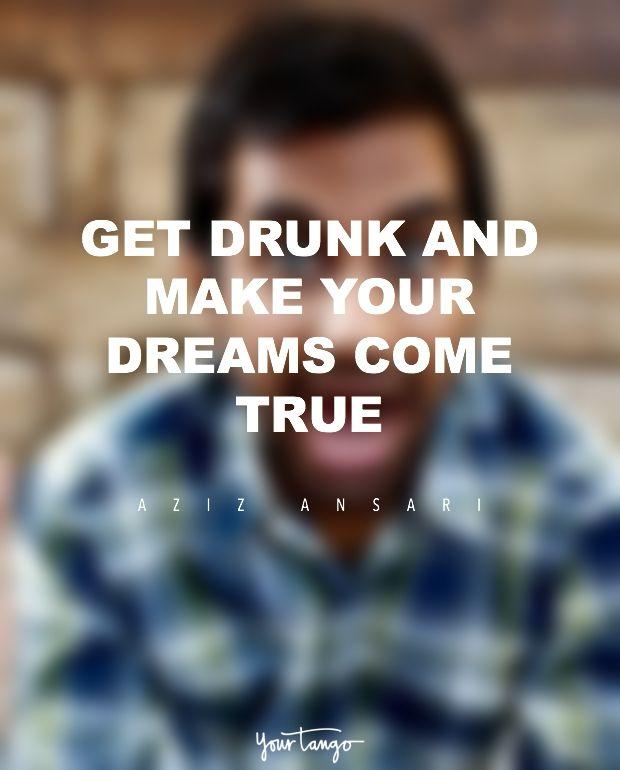 Hilariously funny quotes comedian aziz ansari