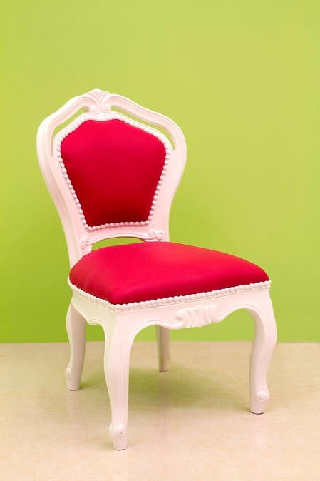 Hot Pink Side Chair Kids I Found This