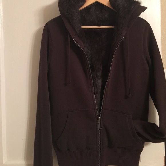b86d66271aa1 JUICY COUTURE Chocolate hoodie