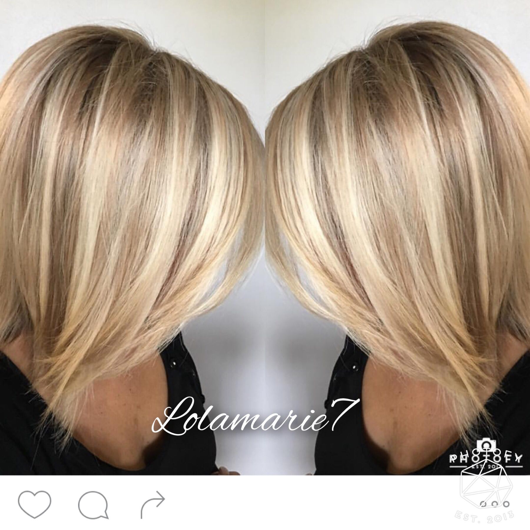 Buttery Blonde In 2019 Medium Blonde Hair Short Hair