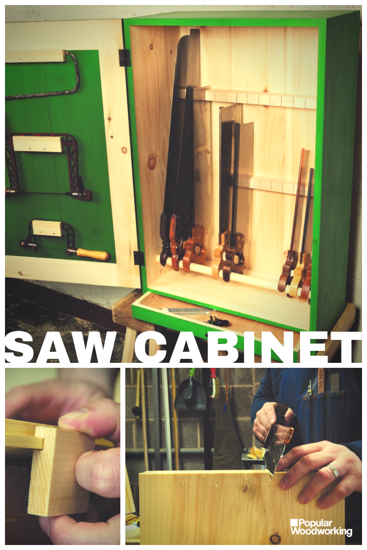 Handmade Saw Cabinet Easy Woodworking Projects Woodworking