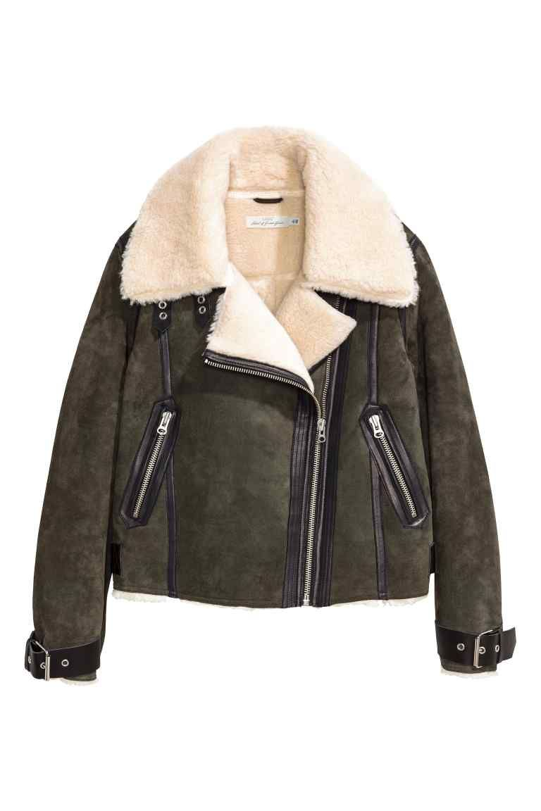 Veste De Style Motard En Daim En 2019 Mode Fashion Pinterest