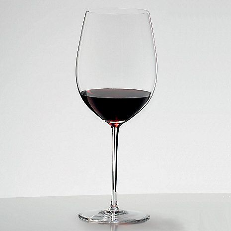 Riedel Sommeliers Cabernet Merlot Bordeaux Wine Glass 1 Red Wine Glasses Personalized Wine Glass Bordeaux Wine