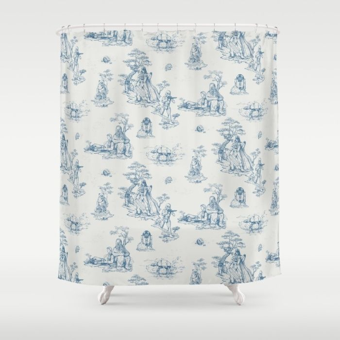 Toile De Star Wars Shower Curtain Star Wars Shower Curtain