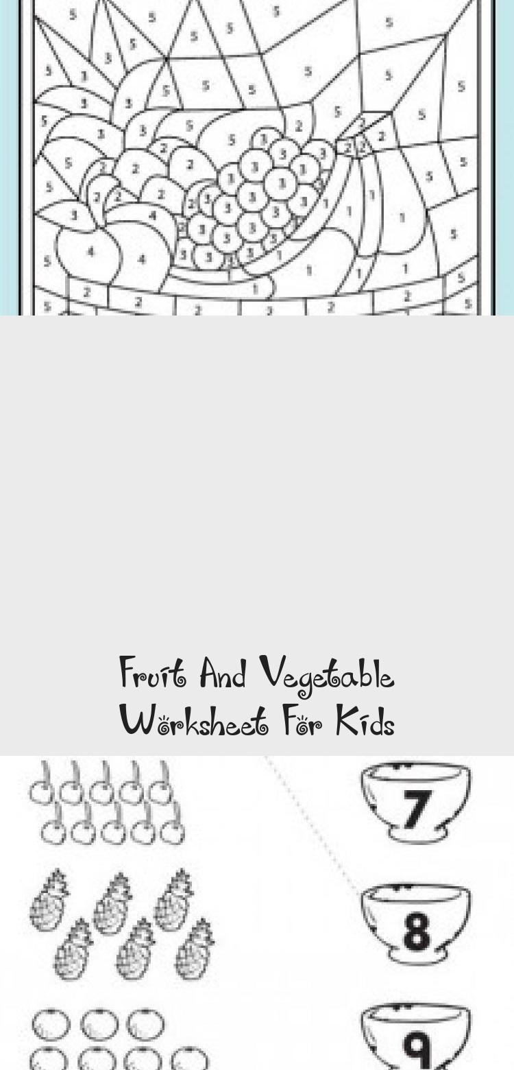 Fruit And Vegetable Worksheet For Kids In 2020 Worksheets For Kids Crafts For Kids Diy Kids Toys [ 1560 x 750 Pixel ]