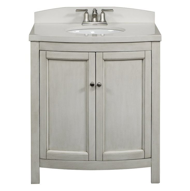 allen + roth Moravia Antique White Undermount Bathroom ...
