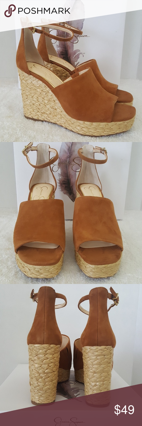 92db7b7ed27 Jessica Simpson Shoes | New Jessica Simpson Suella Leather Sandals ...