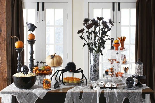 20 Fun And Unique Halloween Decorating Ideas Halloween Pinterest - halloween decorating ideas indoor