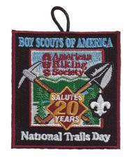 Boy Scouts 2012 National Trails Day® Emblem