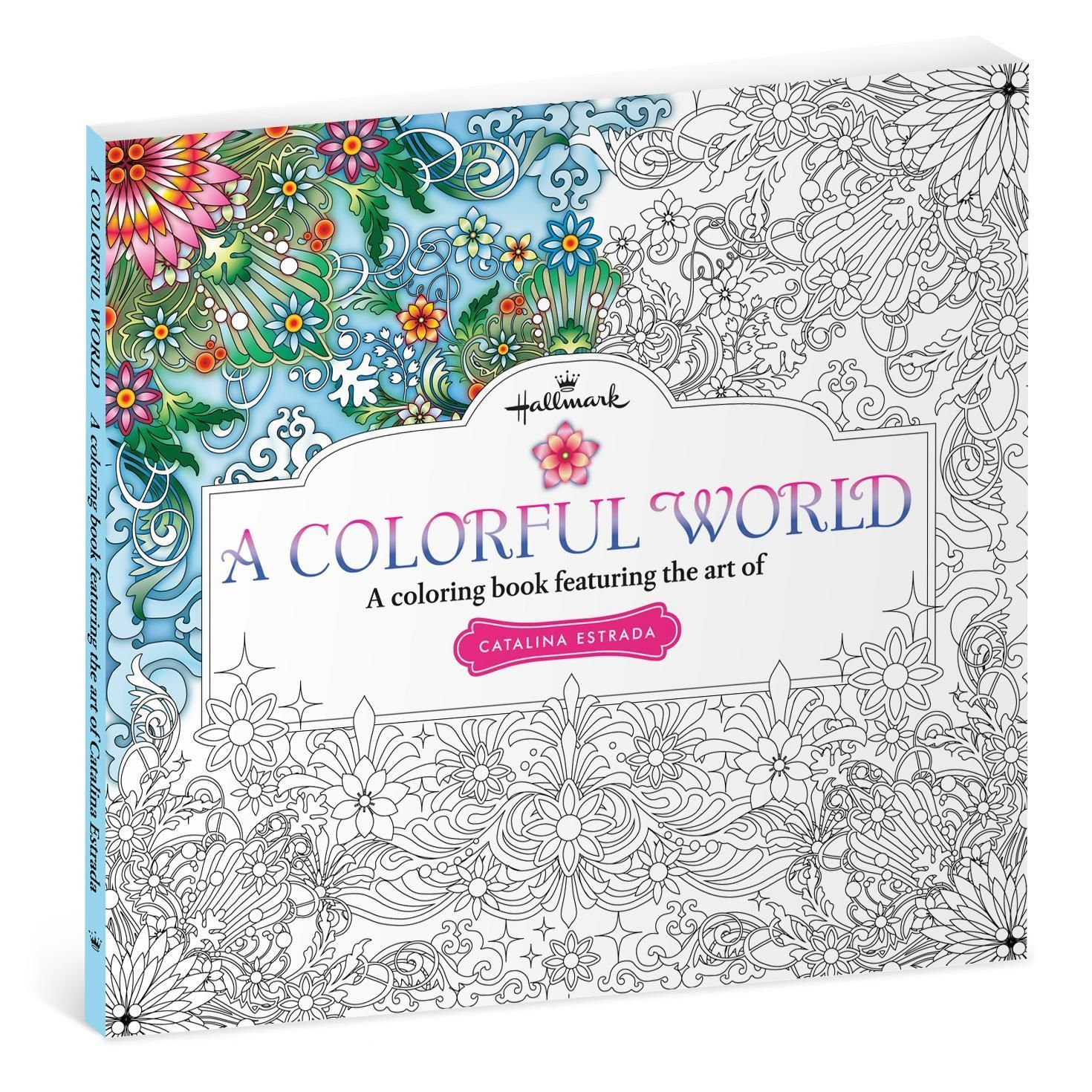 Swear word coloring book sarah bigwood - A Colorful World A Coloring Book Featuring The Art Of Catalina Estrada