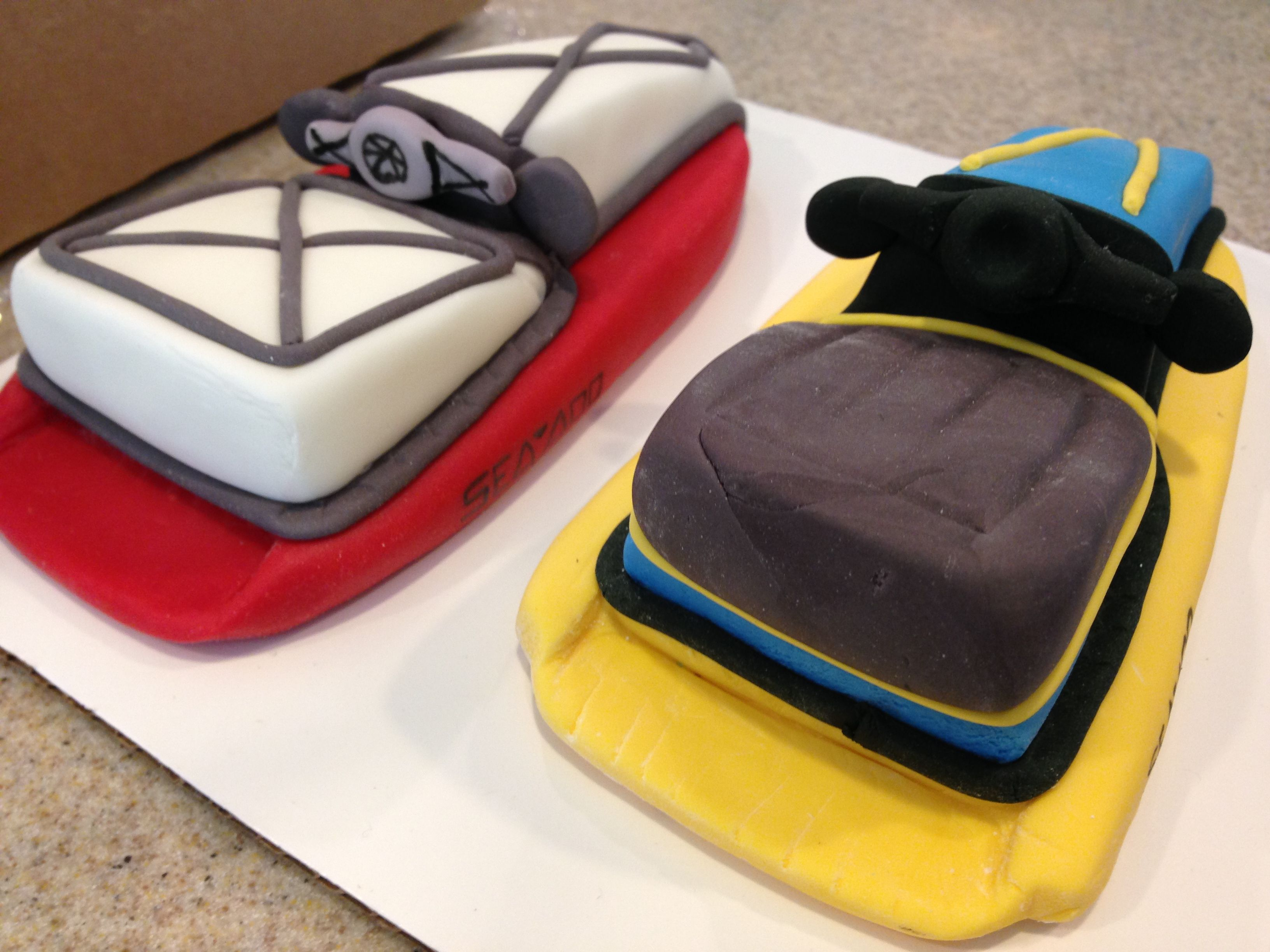 Jet Ski Cake Toppers With Images Cake Toppers Boy Birthday Cake