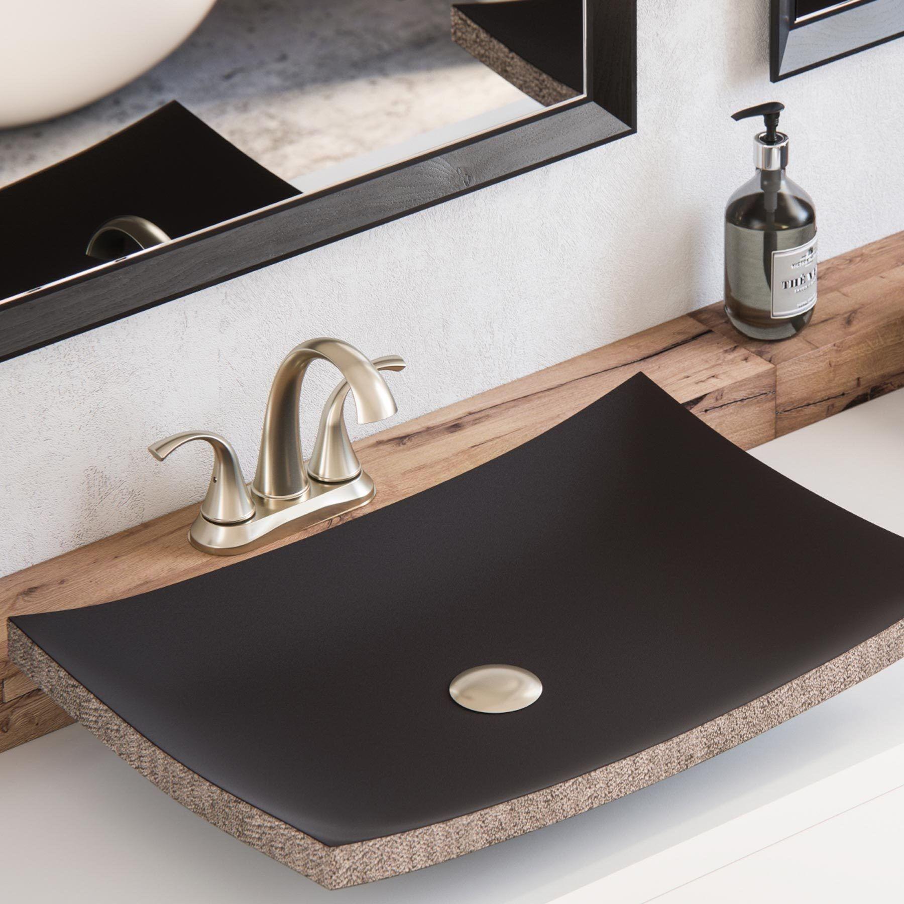 Rondo 4 Centerset Sink Faucet Sink Sink Faucets Stone Vessel Sinks