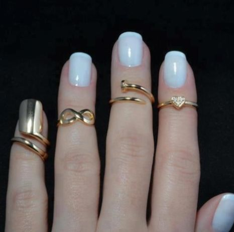 loving mid & upper knuckle rings right now
