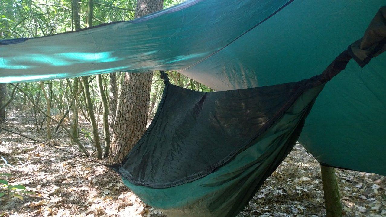 The Safari Deluxe Asym Zip from Hennesy hammocks