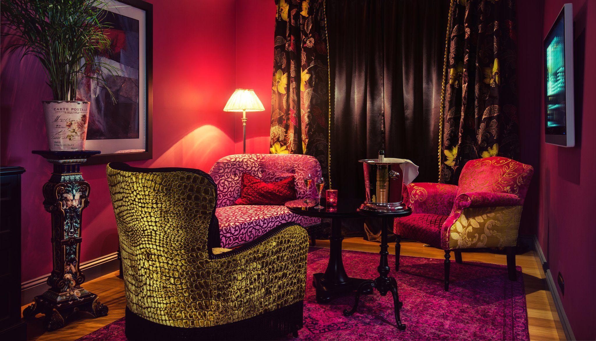 dorsia hotel & restaurant gothenburg, sweden, dorsia interior
