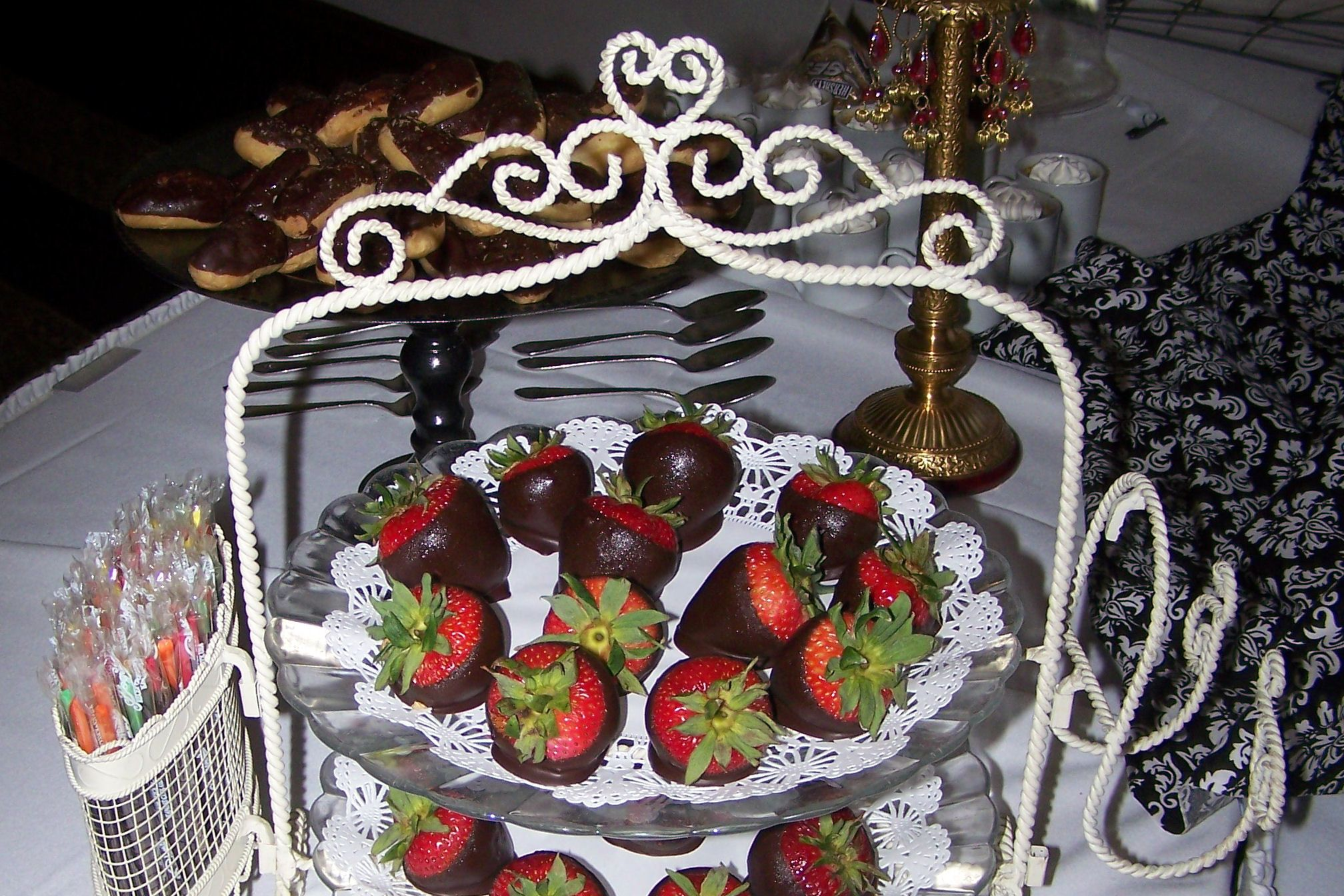 Moulin Rouge dessert as part of dessert buffet