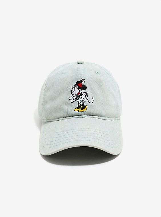Disney Minnie Mouse Denim Dad Hat - BoxLunch Exclusive,