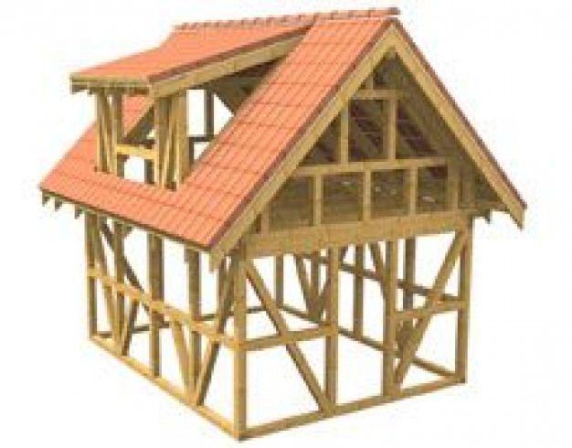 Gartenhaus Dachstuhl Bauen My blog DIY Dachstuhl