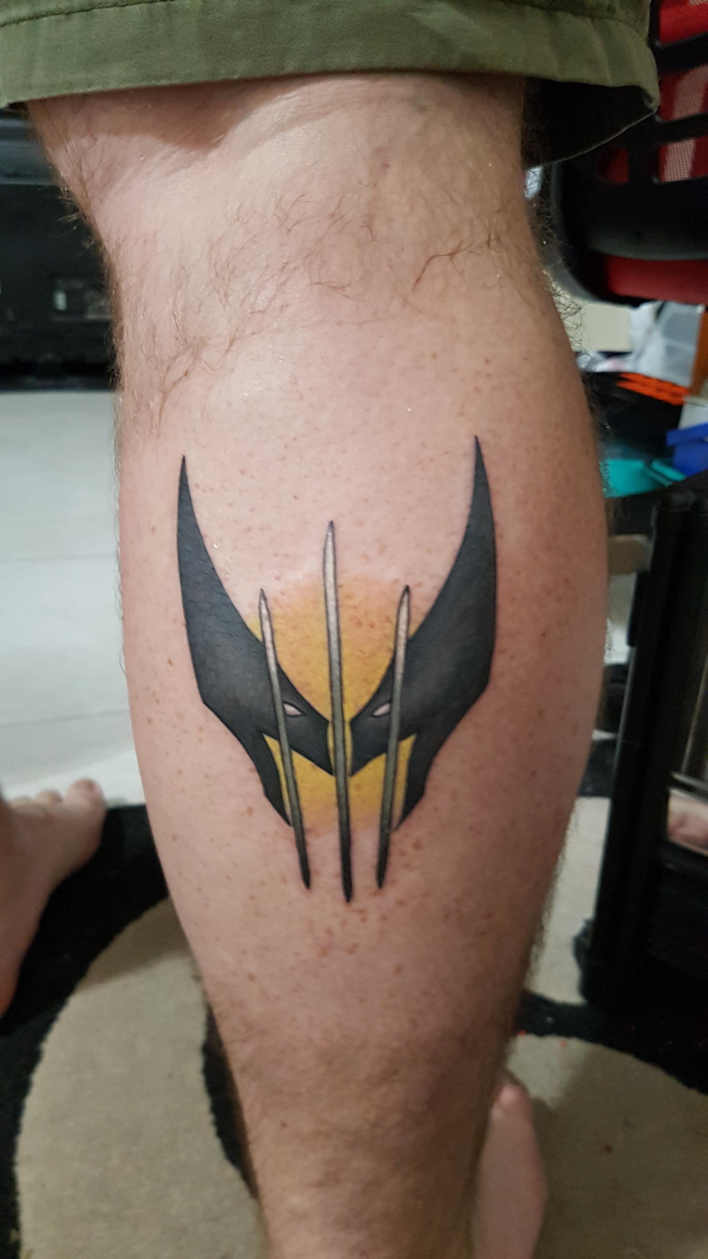My New Wolverine Tattoo Done By Jay Craig At Tora Sumi Balmain