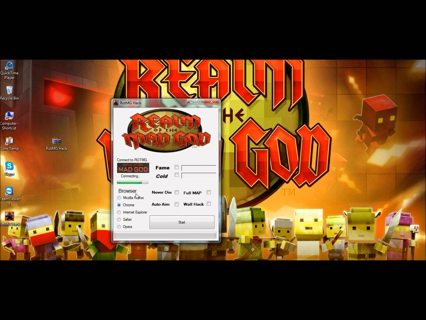 Rotmg Hack Realm Of The Mad God Hack With Images Music Book