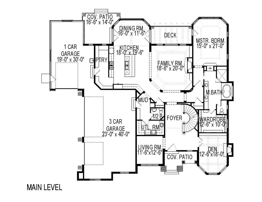 European Style House Plan 8 Beds 5 5 Baths 8053 Sq Ft Plan 920 61 House Plans Little House Plans Floor Plan Design