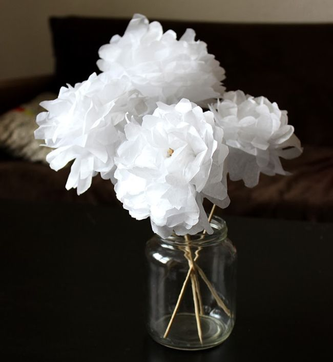 Tuto Fabriquer Des Fleurs En Papier M6 Flowers Diy Paper