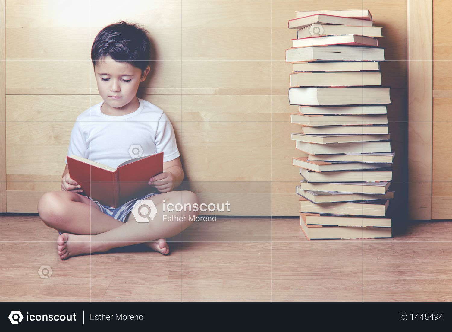Premium Boy Sitting On The Floor Reading A Book Photo Download In Png Jpg Format Books To Read Photo Books