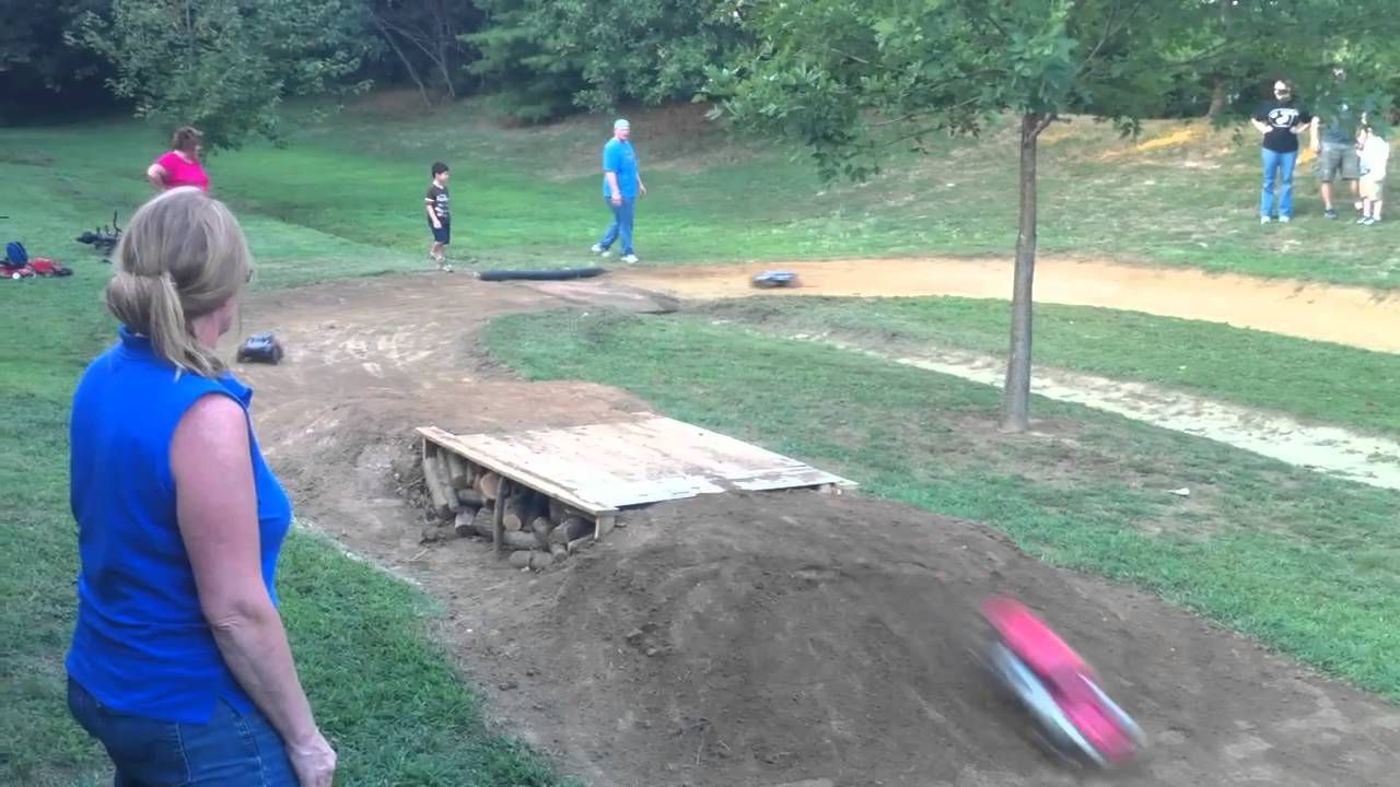 Backyard Bashing RC Track Race YouTube in 2020 Rc