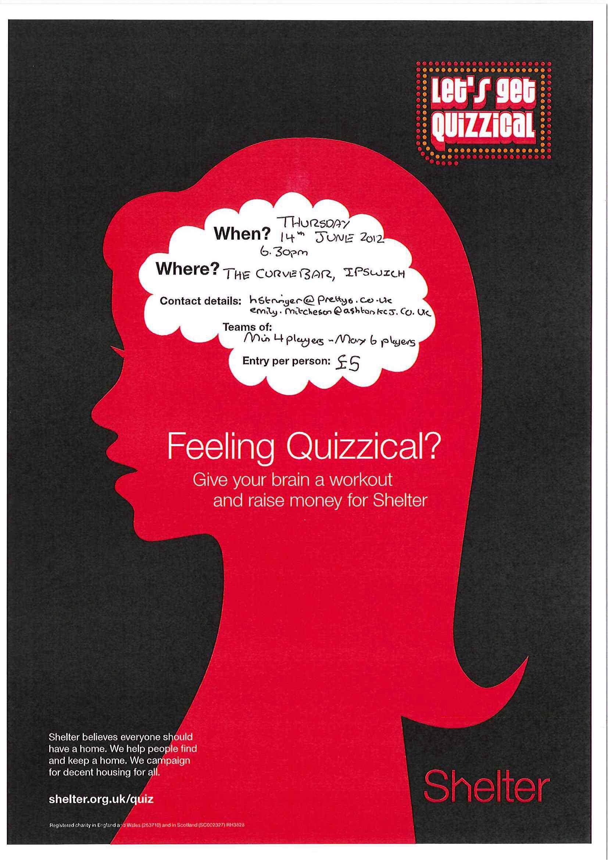 Poster design for quiz - Design Posters Shelter
