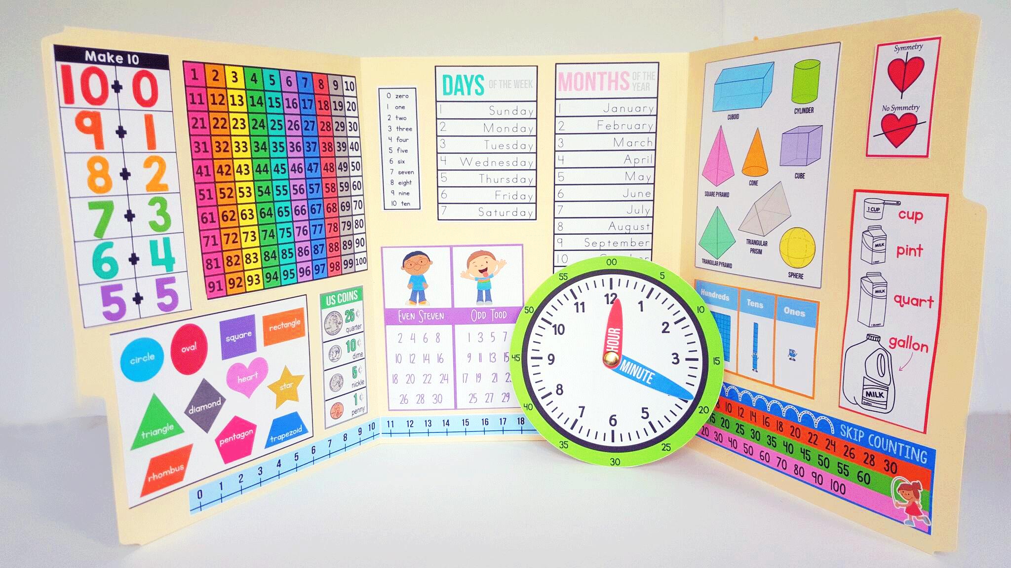 Interactive Math Kindergarten