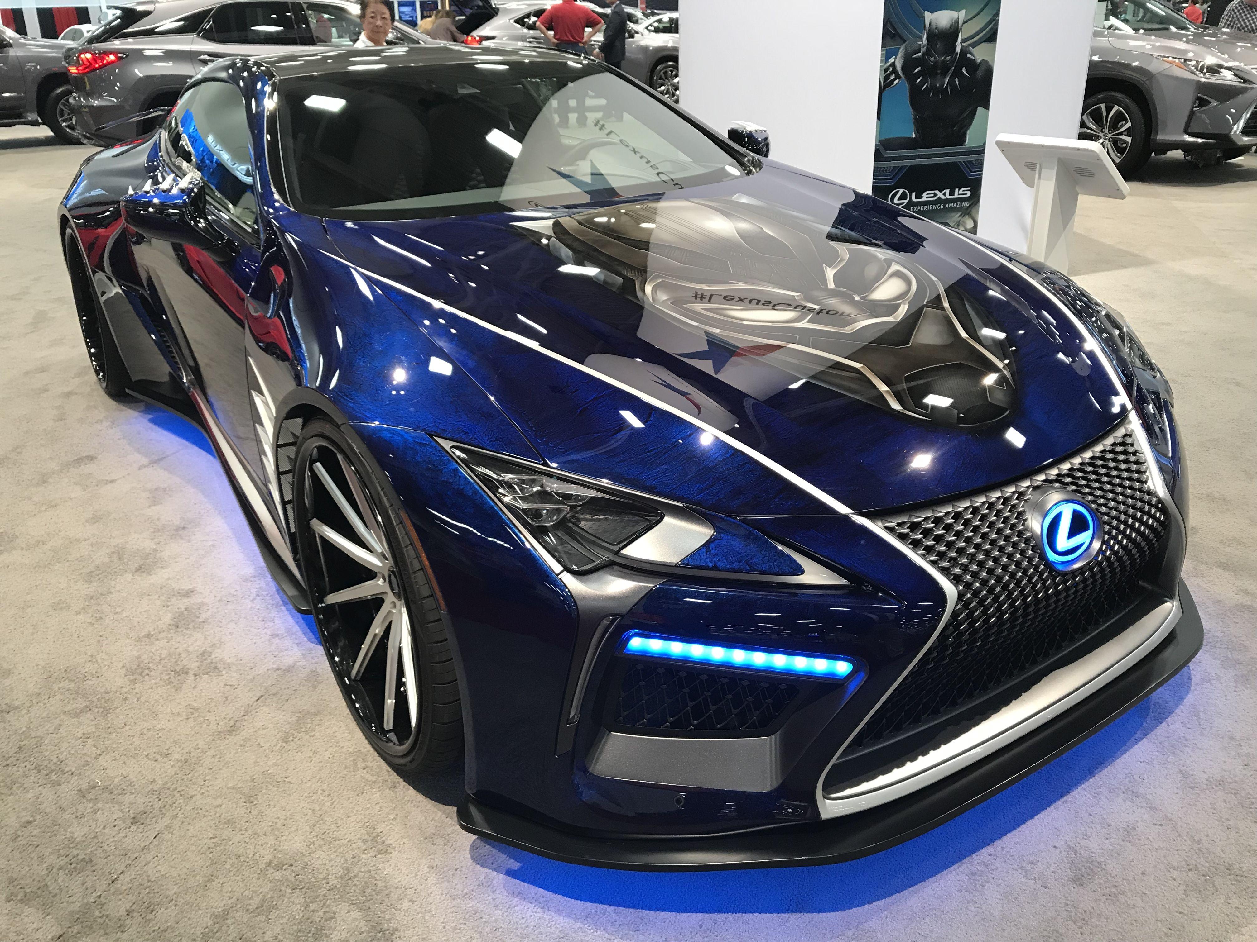 7a57c66d7 Black Panther Lexus LFA front