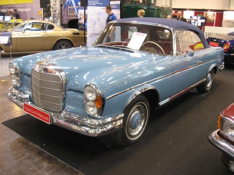 1963 300 SE Cabriolet Convertible Car by Mercedes Benz - Google ...