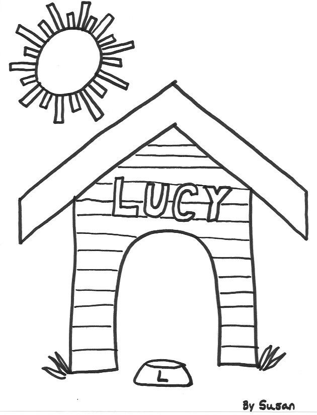 Coloring Pages Of Houses Copyright C Shirleymartin 2012 House