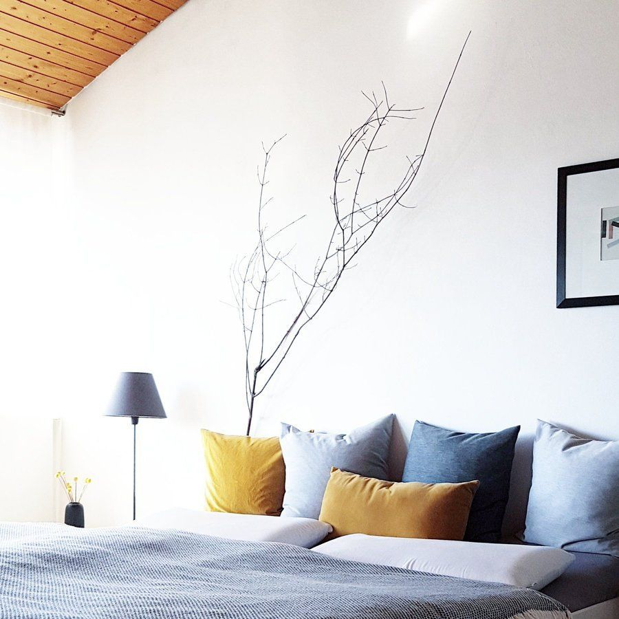 Schlafzimmer Wandfarbe Grau 18: Der Anfang Von Grau Und Gelb..