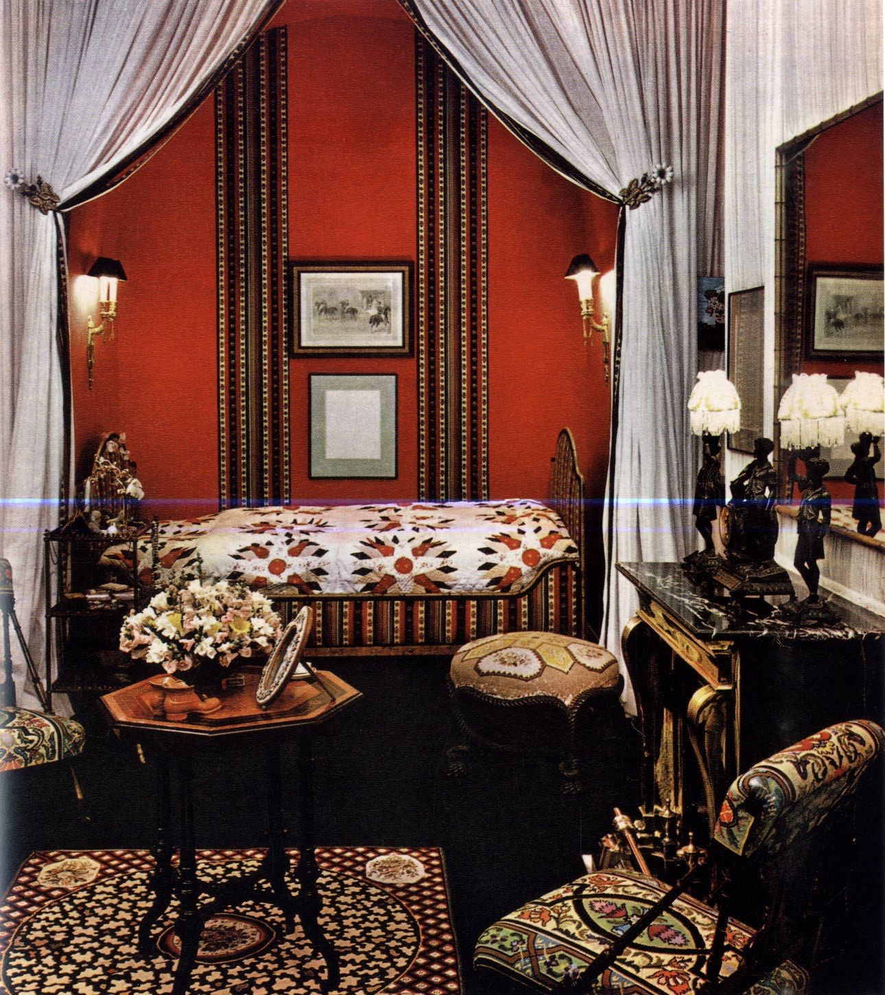 I Really Love This #red Room