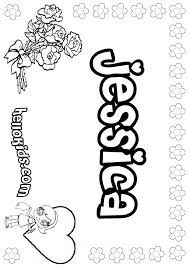 Image Result For Name Jessica Name Coloring Pages Coloring Pages Cute Coloring Pages