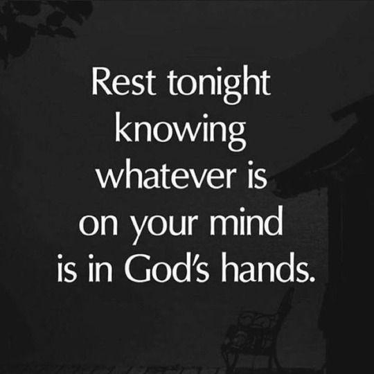 Rest tonight knowing… @BibleQuote365...