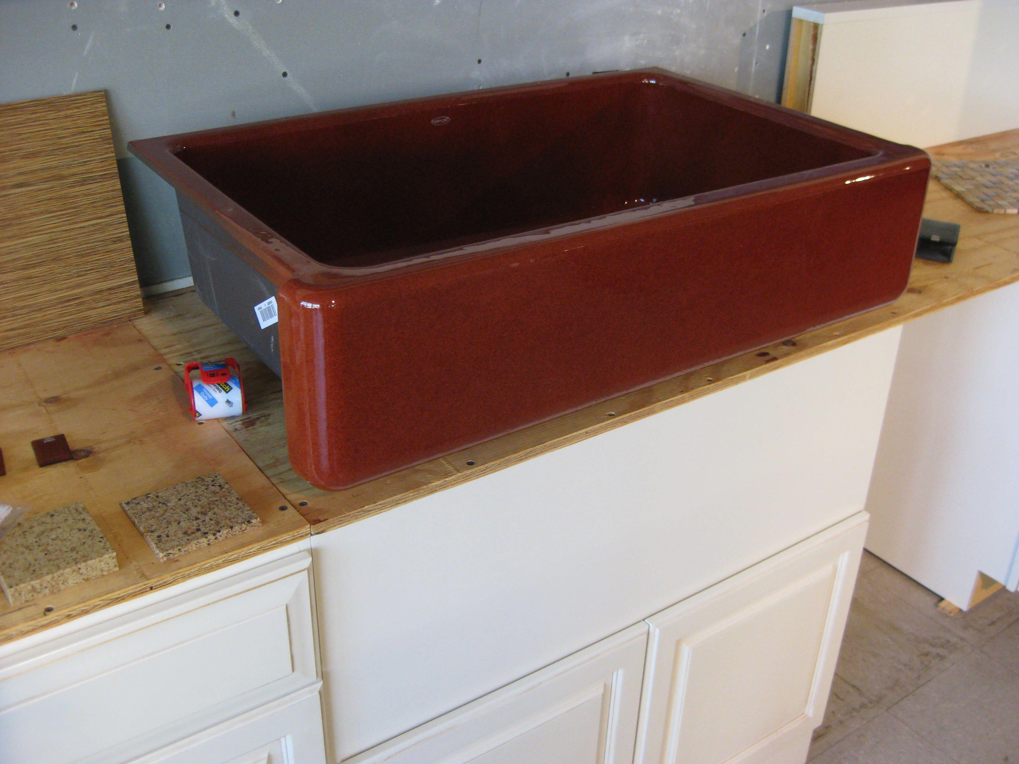 Thar she blows The massive Kohler Ember color cast iron kitchen
