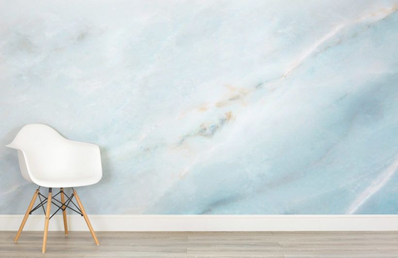 Soft Blue Marble Wallpaper Blue Marble Wallpaper Pink Marble