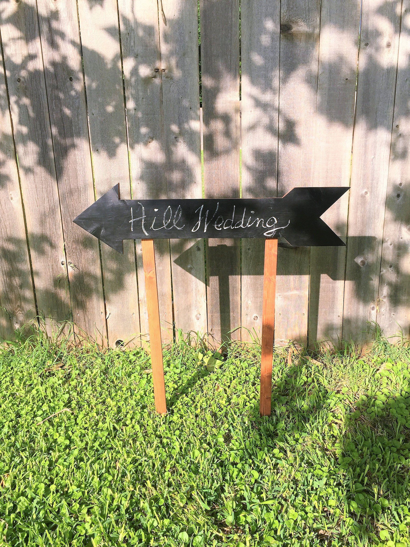 Hanging Chalkboard Sign - 6-Pack Directional Chalkboard ...  |Chalkboard Arrow Sign Plant