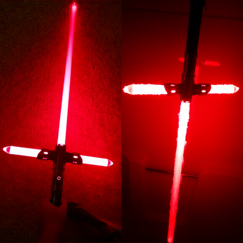 Before And After Unstable Blade Customization Lightsabers Custom Lightsaber Unstable