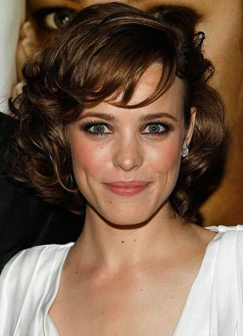 Classy Short Hair for Curly Hair Oval Face in 2019