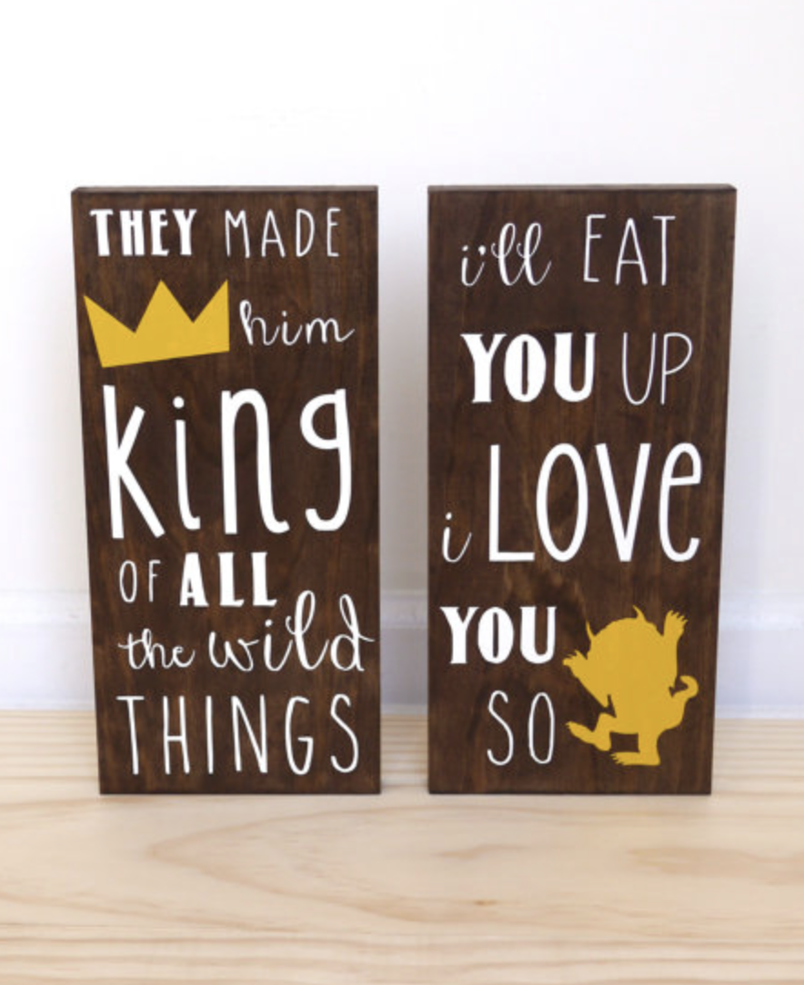 Where the Wild Things Are Baby, King of all Wild Things, I\'ll Eat ...