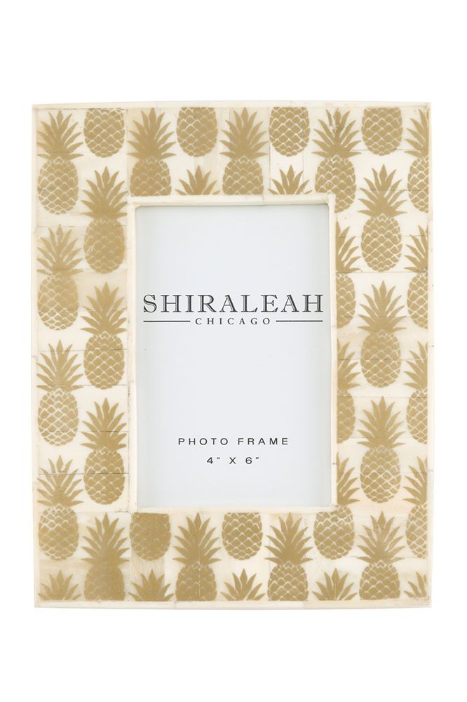 Shiraleah - PINEAPPLE 4X6 PICTURE FRAME #SS-16-75-106 | pineapple ...