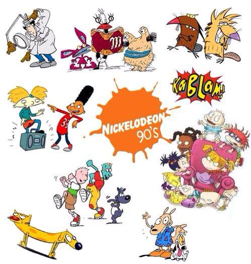 Las Mejores Caricaturas De Los 90 S Nickelodeon Caricaturas De Los 90 Recuerdos De La Infancia Infancia